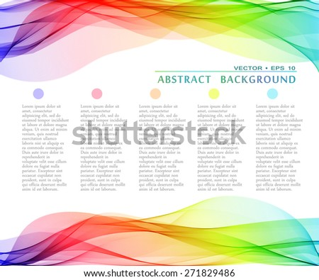 vector abstract multicolor