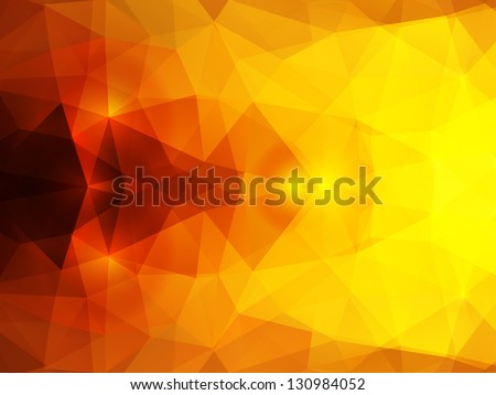 vector abstract mystical polygonal background