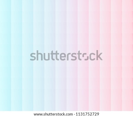 vector abstract pearl colorful shade background bright  blue and pink peach pastel tone.mosaic elegant geometric texture sweet tinted color art design.light glowing spectrum square material scene