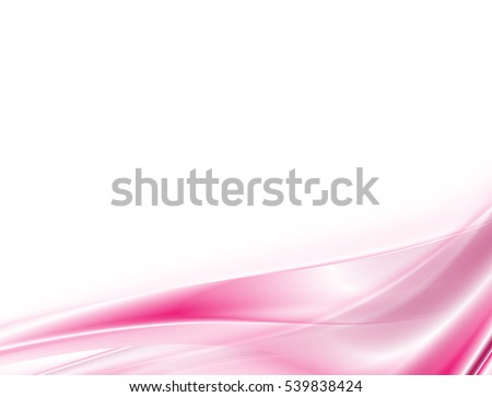 vector abstract pink waves