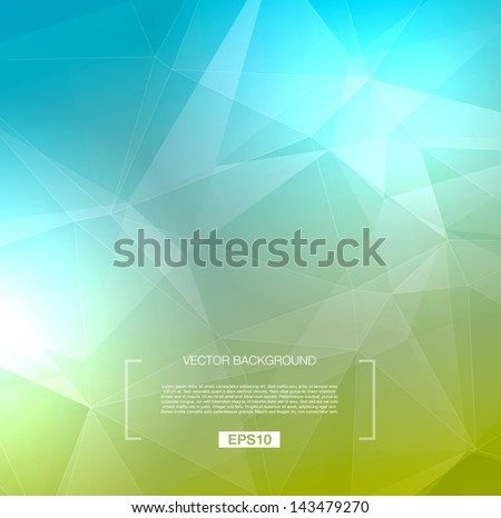 vector abstract polygonal