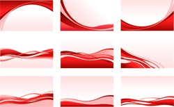 vector abstract red backgrounds