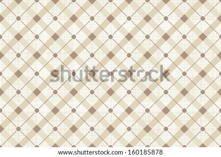 Vector abstract retro seamless polka dot pattern