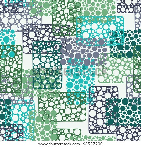 Vector abstract seamless pattern - stock vector