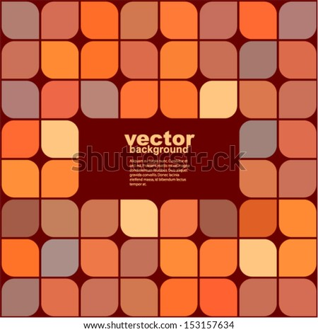 Vector - abstract seamless pattern (Vector background of geometric shapes)