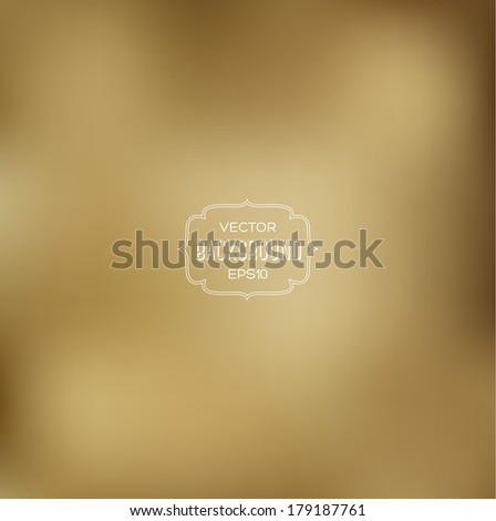 Vector abstract sepia blurry background