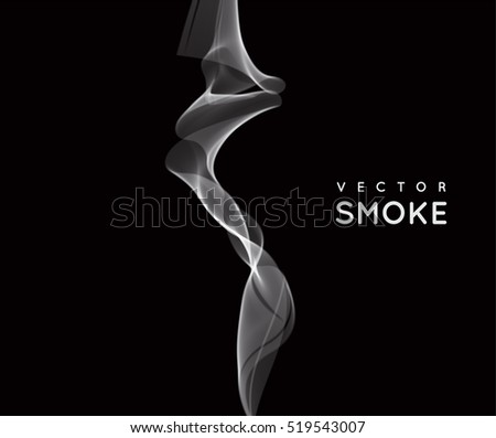 Stock Photo Vector abstract smoke background