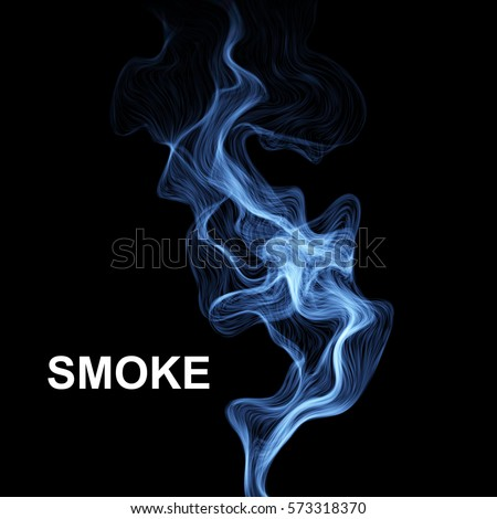 vector abstract smoke