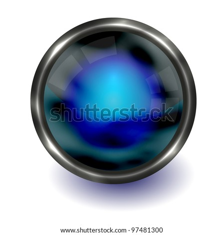 Vector abstract sphere. Eps10 - stock vector
