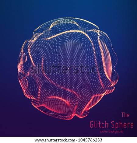 vector abstract sphere of