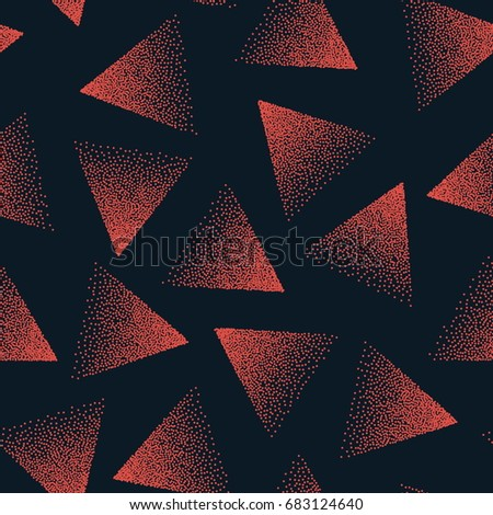 vector abstract stippled
