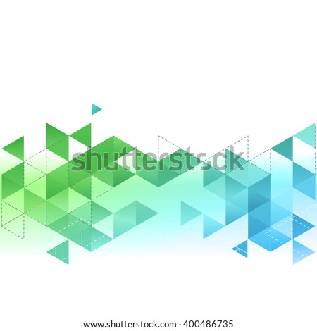 vector abstract template
