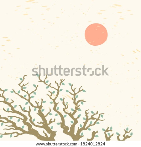 vector abstract tree branches