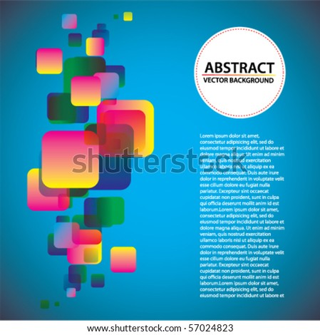 Vector abstract trendy background