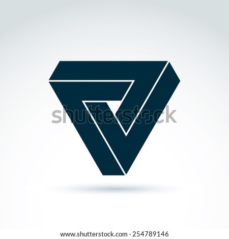 vector abstract triangle