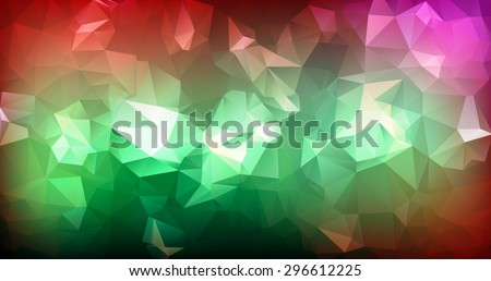 vector abstract triangulated