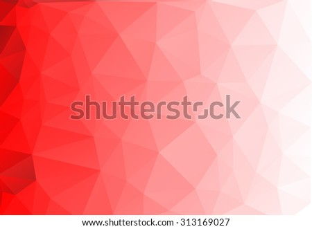 stock-vector-vector-abstract-triangulated-background-red-background-white-background