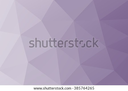 Vector Abstract Triangulated Purple Background Broken Glass Shattered Pale Geometric Calm