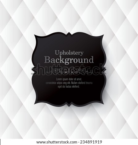 Vector abstract upholstery background. Can be used in cover design, book design, website background, CD cover, advertising.