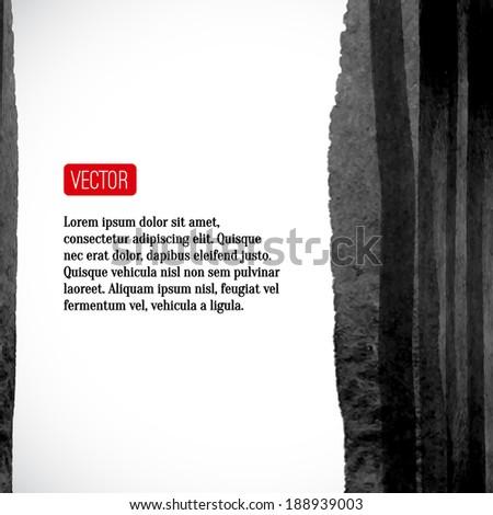 vector abstract watercolor