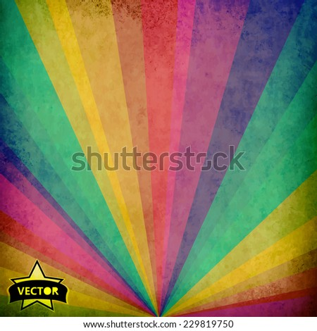 vector abstract watercolor background for your design