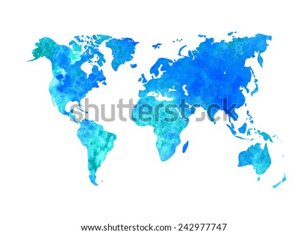 Free watercolor world map vector download free vector art stock vector abstract watercolor background of business flyer the map template grunge world map gumiabroncs Choice Image