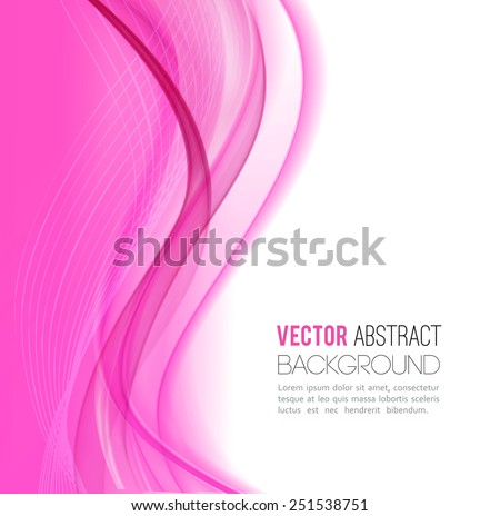 vector abstract waves