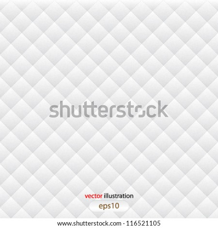 Vector abstract white seamless background - eps10