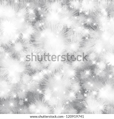 Vector abstract winter background.