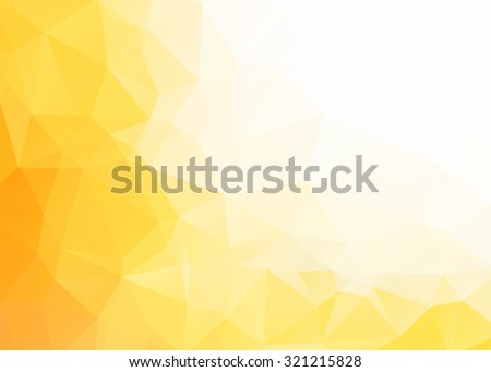 vector abstract yellow white
