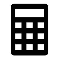 Vector Accounting Glyph Icon Design