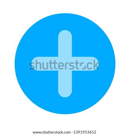 vector add sign - cross symbol