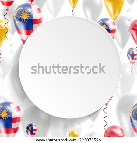 vector air balloons festive