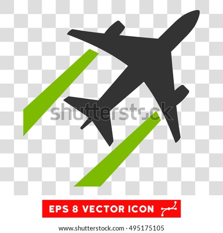 vector air jet trace eps vector