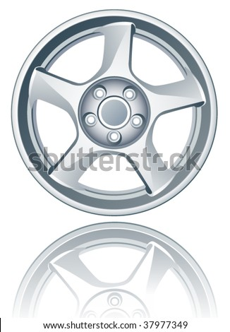 Vector alloy wheel.