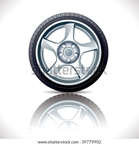 Vector alloy wheel.