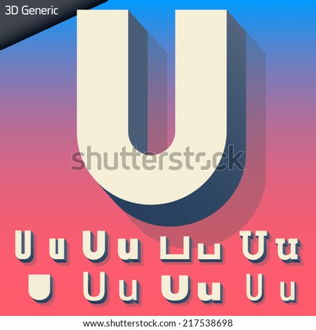 vector alphabet of simple and