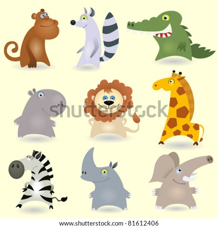 Vector animals set #3