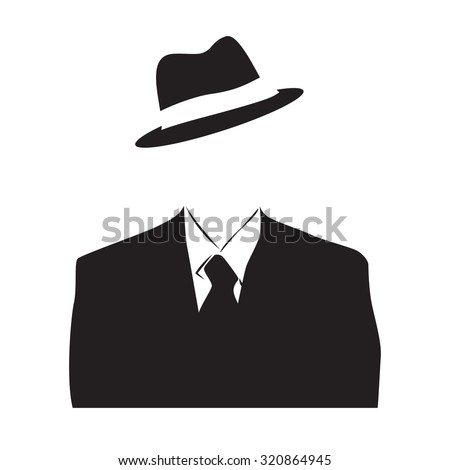 vector anonymous  invisible man