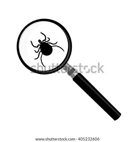 vector antivirus scanning icon
