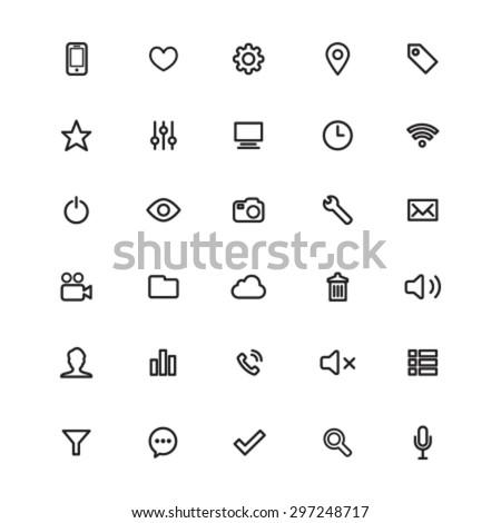 Vector App Icons