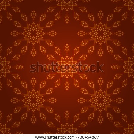 vector arabic ornament in