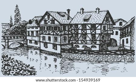 vector architectural landscape