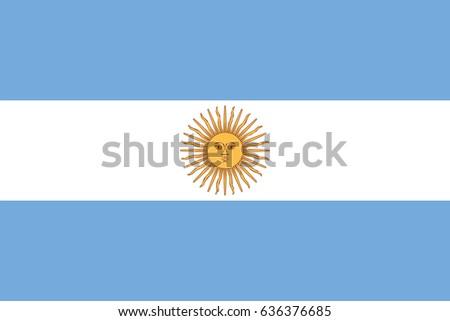 vector argentina flag