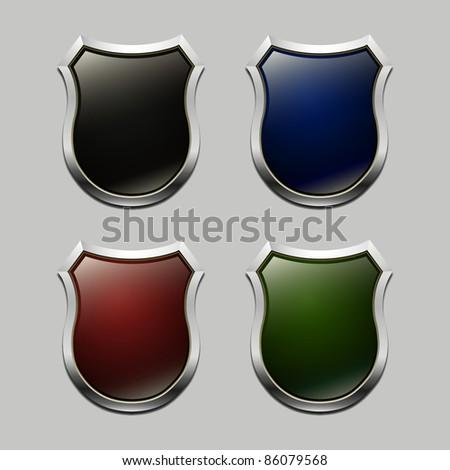 Vector arms for heraldic symbols