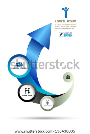 vector arrow for business