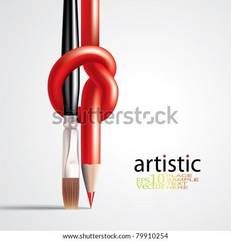 Vector art concept