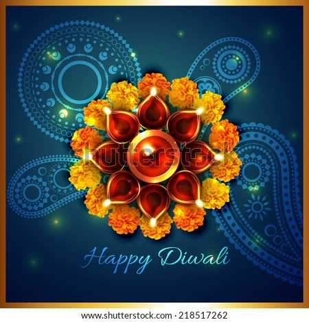 stock-vector-vector-artistic-background-of-diwali