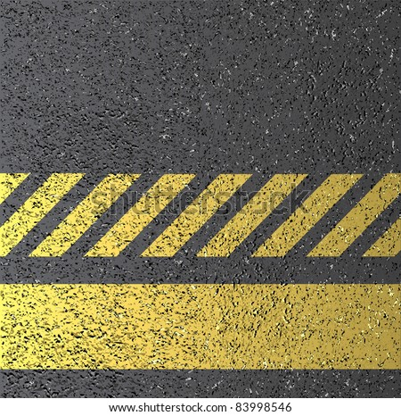 vector asphalt texture with