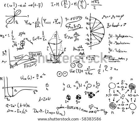 vector - atom, quantum physics, molecule, hydrogen,